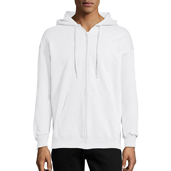 Hanes Mens Ultimate Cotton Long Sleeve Full-Zip Hoodie