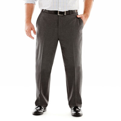 JF J. Ferrar® Stretch Gabardine Suit Pants–Big & Tall
