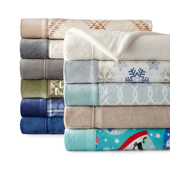 Sunbeam® Super Soft Fleece Sheet Set