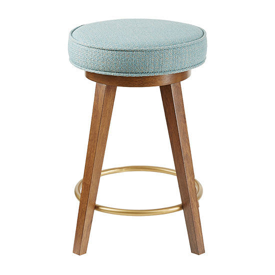 INK+IVY Dawn Counter Height Upholstered Bar Stool
