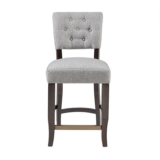 INK+IVY Orlando Counter Height Upholstered Tufted Bar Stool