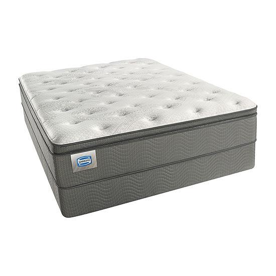 Simmons Cartridge Medium Pillow Top - Mattress + Box Spring