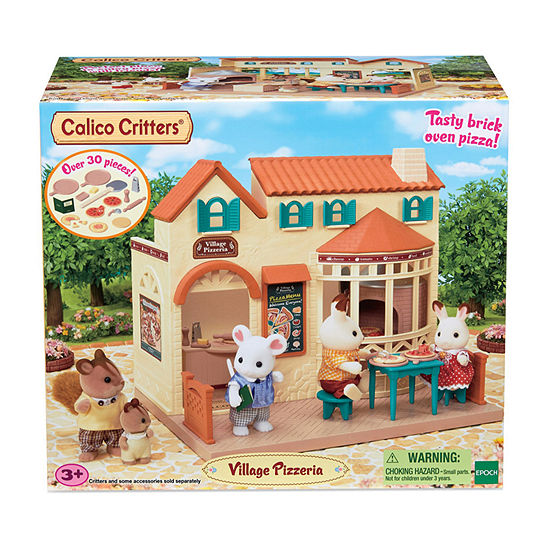 Calico Critters Village Pizzeria Toy Playset - Unisex