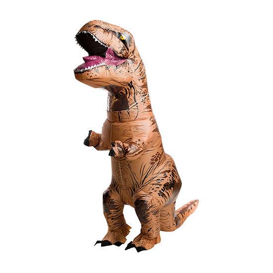 Jurassic World Teen T-Rex Inflatable Child 4-pc. Dress Up Costume Boys