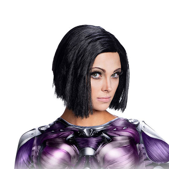 Alita Battle Angel Wig Unisex Dress Up Accessory