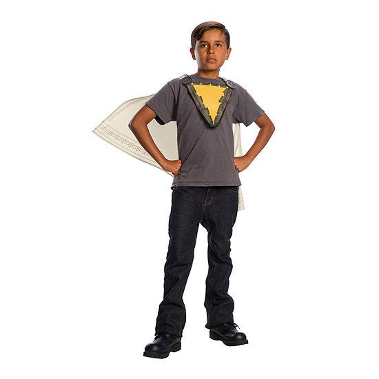 Shazam Kids Cape And Chest Emblem