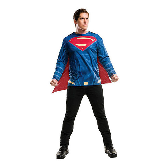 Justice League Superman Adult Costume 2-pc. XL Top