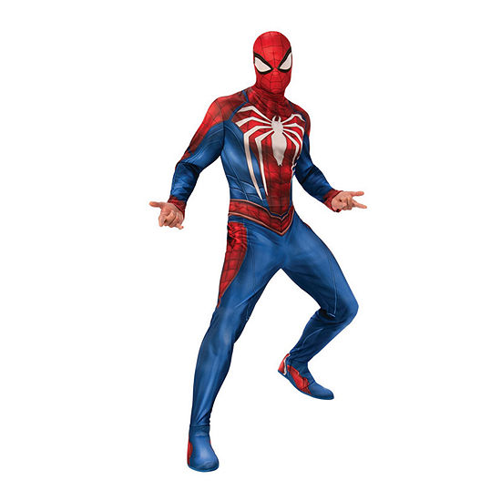 Spider-Man Gamer Verse Adult 4-pc Dress Up Costume Mens