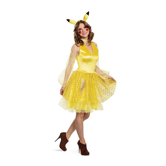 Pikachu Female Deluxe Adult Costume Womens Costume Womens Costume