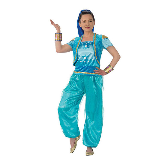 Shimmer And Shine Deluxe Adult 5-pc. Dress Up Costume Womens