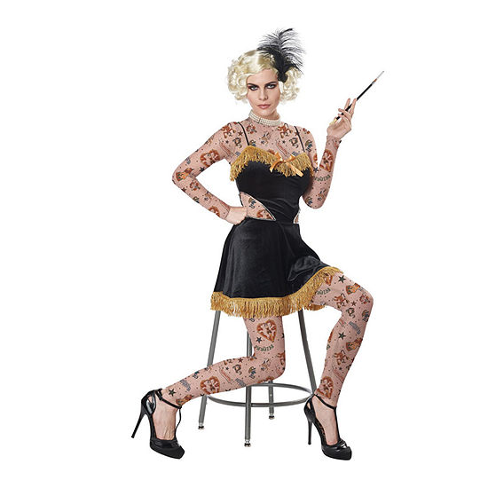 Women's The Amazing Tatooed Lady Costume