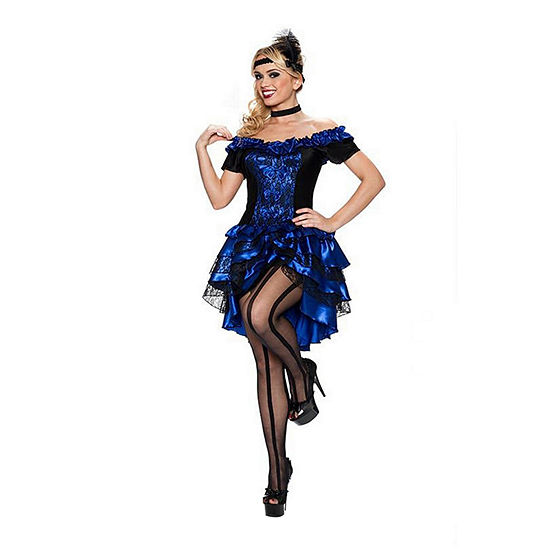 Showgirl Women's 3-pc. Dress Up Costume