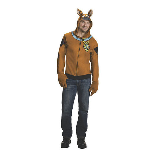 Adult Scooby Doo 3-pc. Dress Up Costume Mens