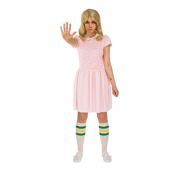 Stranger Things Eleven'S Dress Adult Short Sleeves