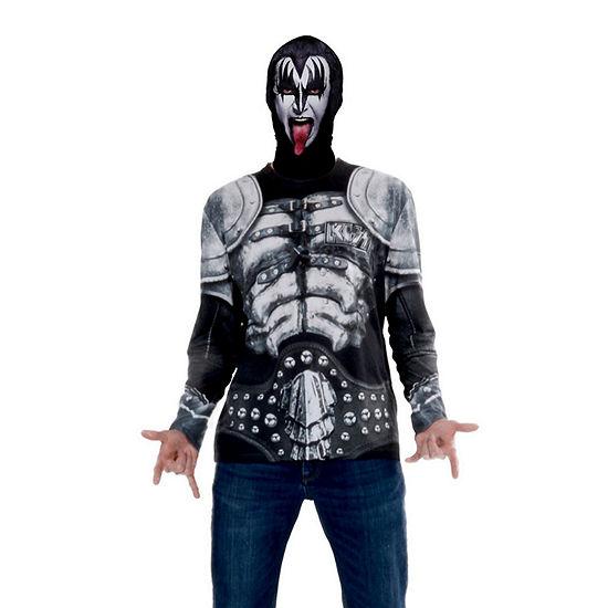 Kiss Mask And Tee Combo Adult Shirt