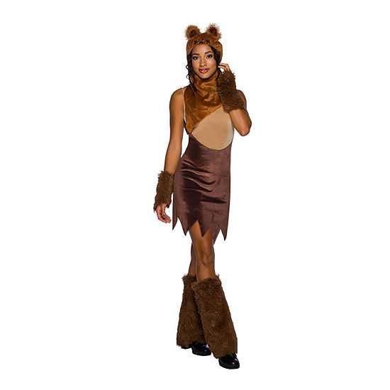 Classic Ewok 6-pc. Star Wars Dress Up Costume Womens