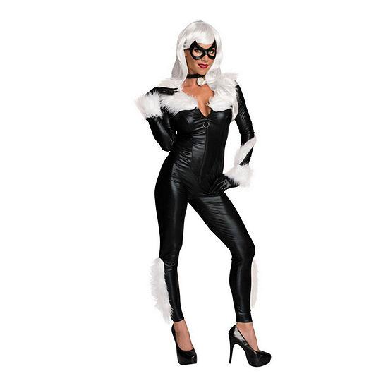 Women's Sassy Black Cat Adult 5-pc. Marvel Dress Up Costume