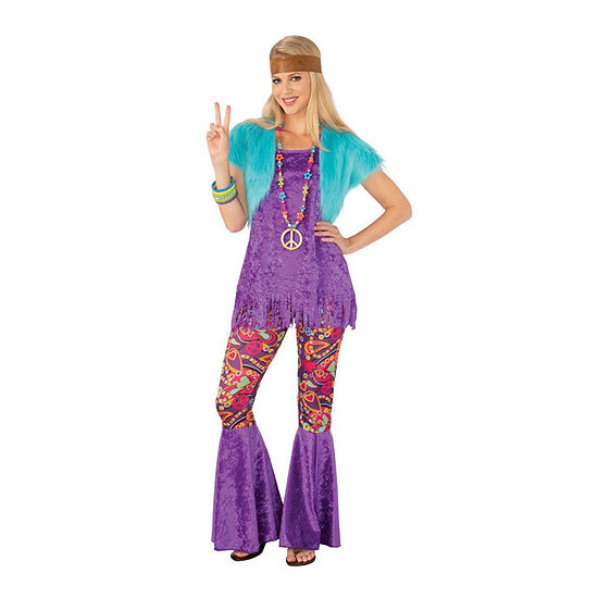 Groovy Girl Adult 4-pc. Dress Up Costume Womens