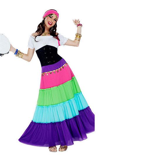 Women'S Renaissance Fortune Teller Costume