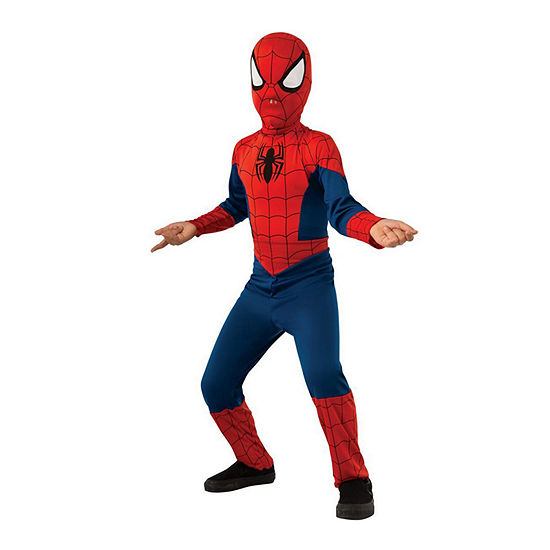 Men's Classic Ultimate Spider-Man Adult Costume 2-pc.Dress Up Costume