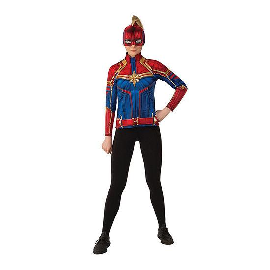 Captain Marvel Hero Suit Adult 2-pc. Dress Up Costume Womens
