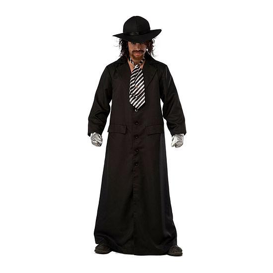 Wwe Grand Heritage Undertaker Adult Costume 8-pc. Dress Up Costume Mens