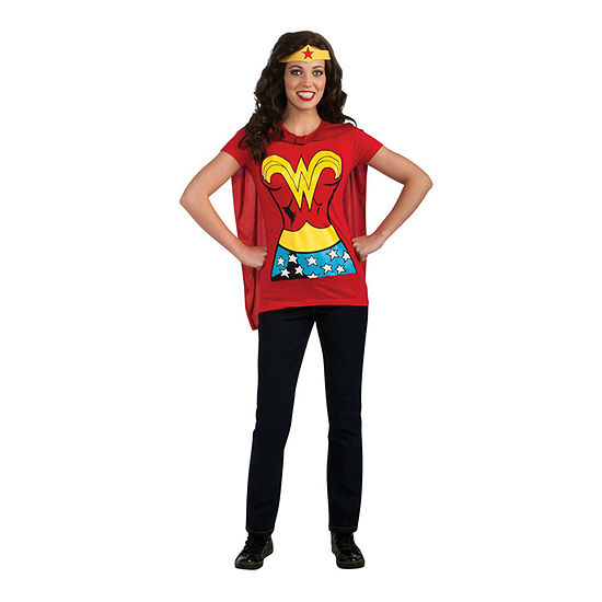Wonder Woman T-Shirt Adult Kit Dress Up Costume Womens