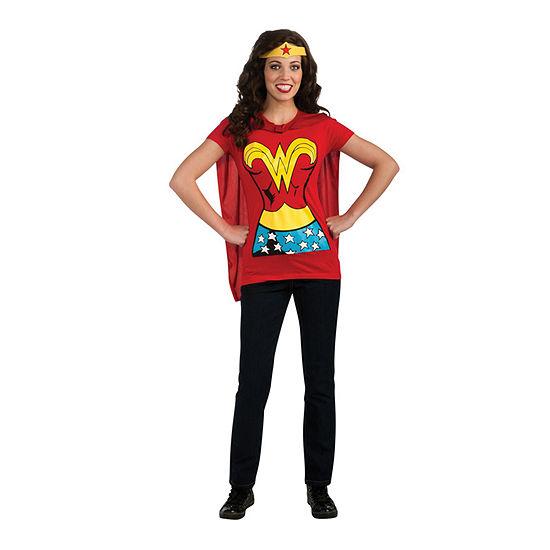 Wonder Woman T-Shirt Adult Dress Up Costume Womens