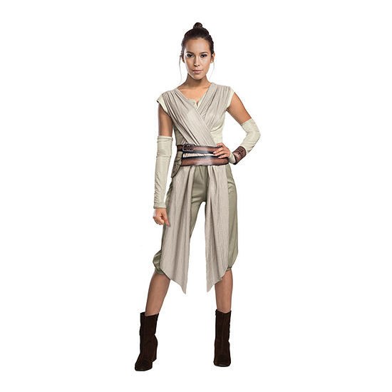 The Force Awakens - Deluxe Rey Star Wars Dress Up Costume Womens