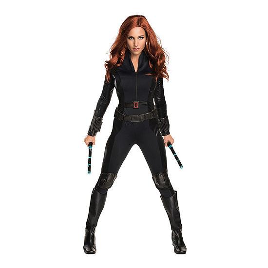 Captain America: Civil War Black Widow Secret Wishes Adult Dress Up Costume Womens
