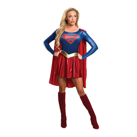 Supergirl Tv Adult Dress Up Costume Womens