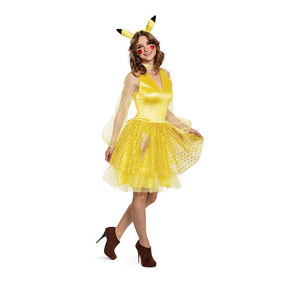 Pikachu Female Deluxe Teen Costume