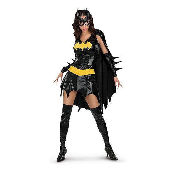 Batgirl Deluxe Adult Dress Up Costume Womens