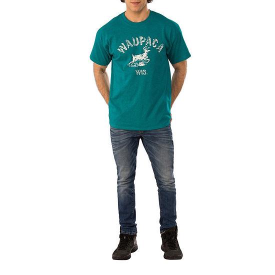 Stranger Things Dustin'S Waupaca Shirt Adult
