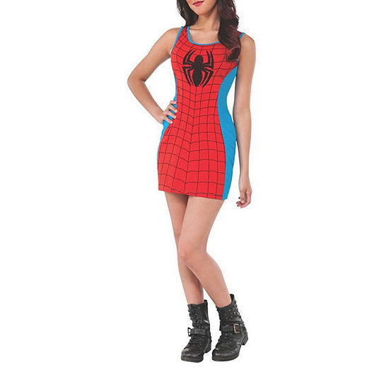 Spider-Girl Adult Tank Marvel Dress Up Costume Womens