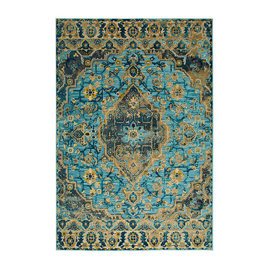 Home Dynamix Shabby Chic  Fiesta Valencia Rectangular Indoor Rugs