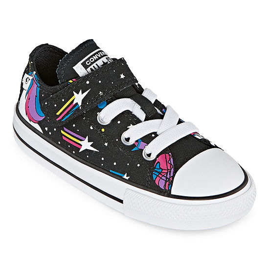 Converse Converse 1v Ox Unicons Toddler Girls Elastic Sneakers