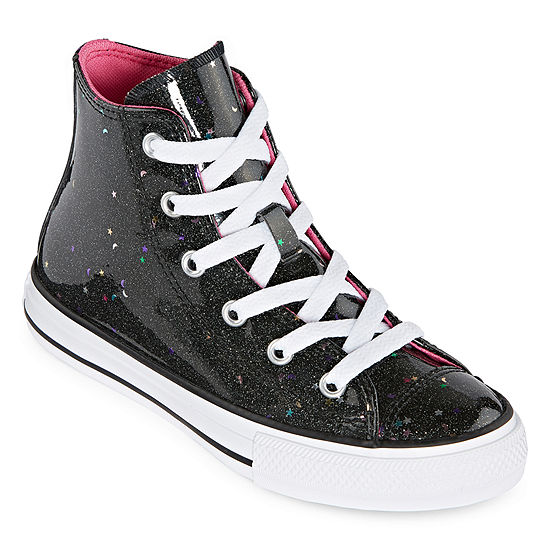 Converse High Top Galaxy Glimmer Little Big Kid Lace Up Girls Sneakers