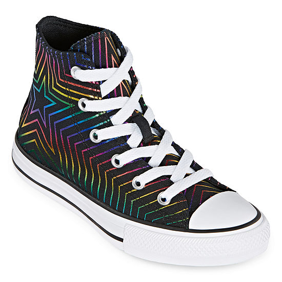 64b11772885e Converse High Top All Of The Stars Little Kid/Big Kid Girls Sneakers  Lace-up - JCPenney