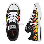Converse Converse Chuck Taylor All Star Street Slip Flame Print Little Kid/Big Kid Boys Sneakers