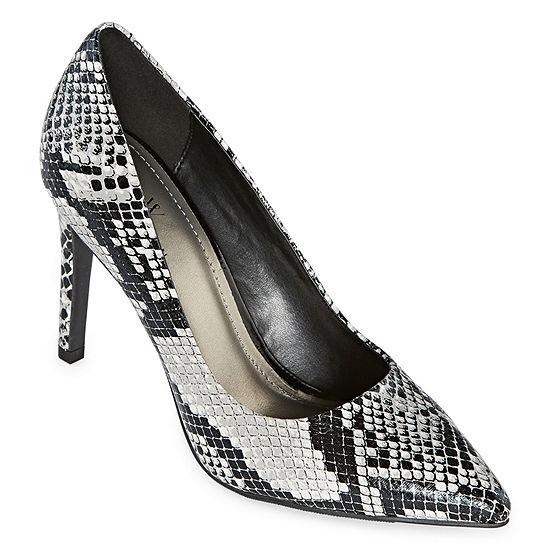 Worthington Womens Zoe Pumps Pointed Toe Stiletto Heel