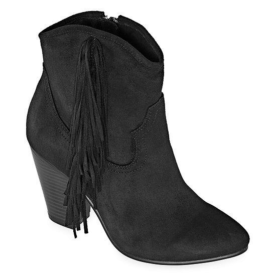 Zigi Girl Womens Hazeline Block Heel Booties