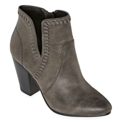 Zigi Girl Womens Harleth Block Heel Booties
