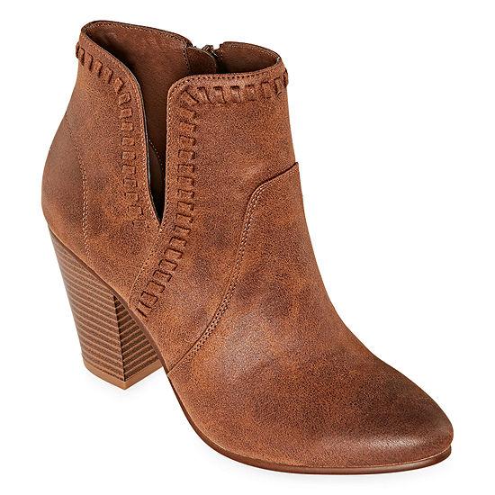 Zigi Soho Womens Harleth Booties Block Heel