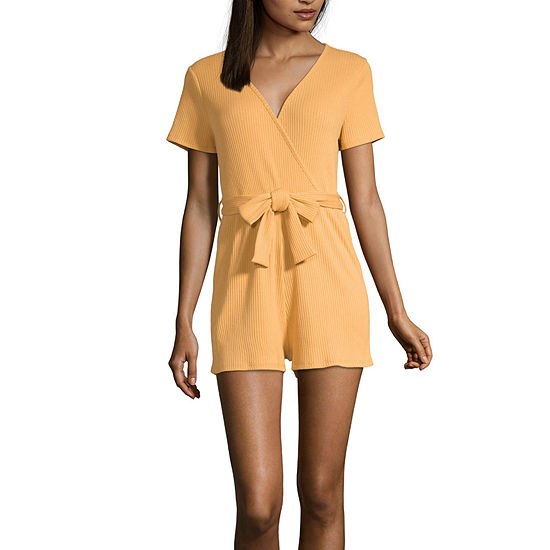 Youth In Revolt Short Sleeve Romper-juniors