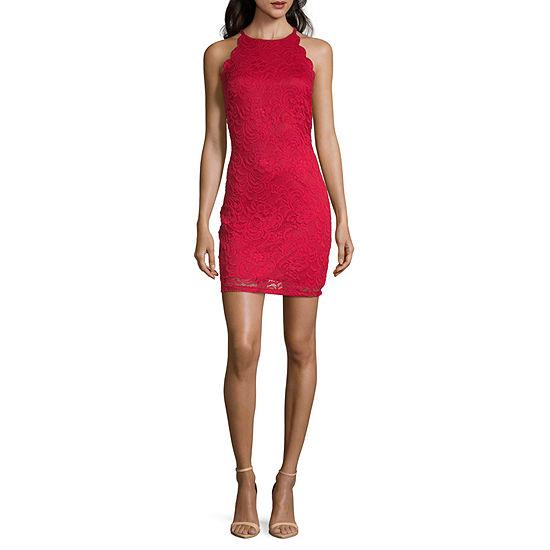 Byer California Sleeveless Bodycon Dress-Juniors