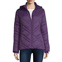 Deals on Xersion Water Resistant Lightweight Puffer Jacket Womens