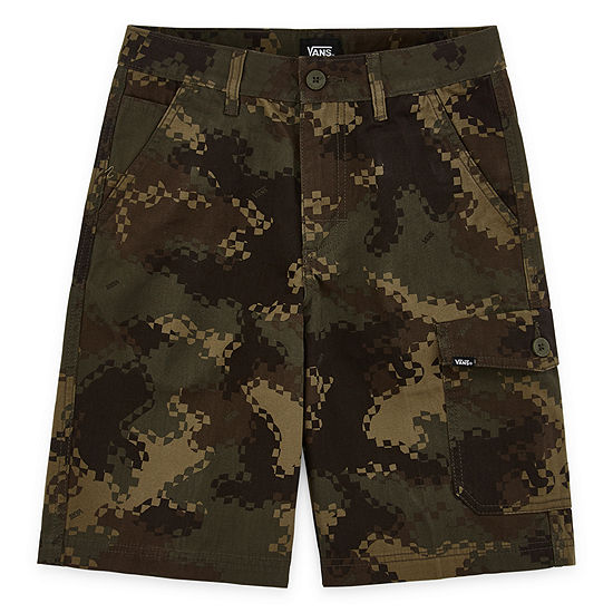 Vans Boys Mid Rise Cargo Short Preschool / Big Kid