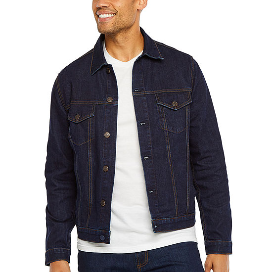 Collection by Michael Strahan  Denim Suit Jacket