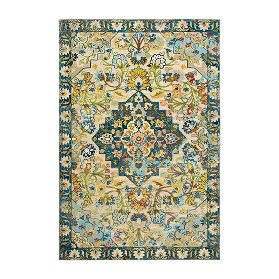 Home Dynamix Shabby Chic  Fiesta Granada Rectangular Indoor Rugs